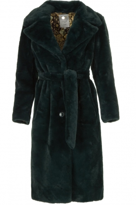 Dante 6 |  Faux fur coat Iboh | green