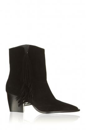 Toral | Suede boots Basket | black