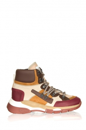 Toral |  Leather sneakers Bordega | multi