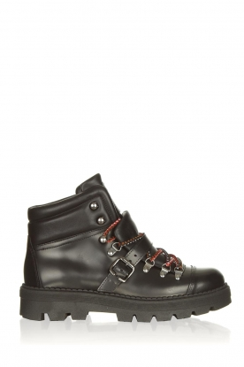 Toral |  Leather hiking boots Florentic | black
