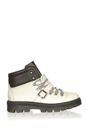 Toral |  Leather hiking boots Florentic | white