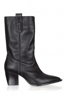 Toral | Leren laarzen Eleseo | zwart