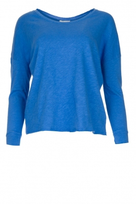 American Vintage |  Basic sweater Sonoma | blue