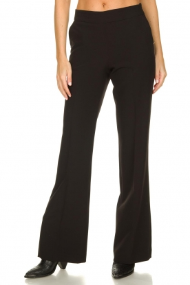 Kocca |  Flared pantalon Yoghi | black