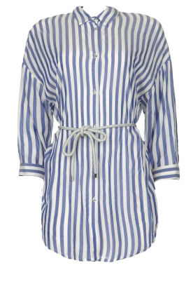 Kocca |  Striped Blouse Nelles | blue