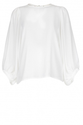 Kocca | Blouse with puffed sleeves Talami | white