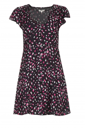 Kocca |  Dress with dots Negasy | Black