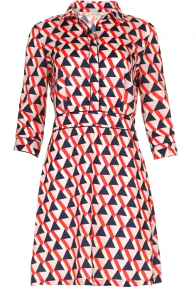 Kocca | Printed dress Yoel | red