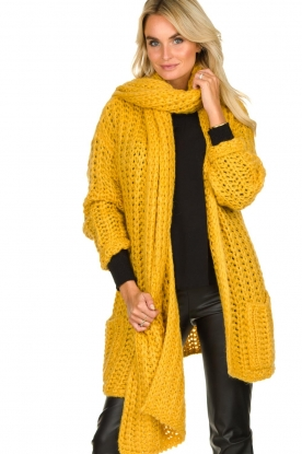 Be Pure | Scarf Milou | yellow