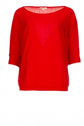 Kocca |  Classic sweater Adams | red
