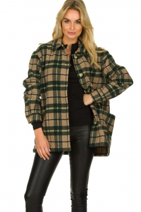American Vintage |  Oversized coat Billy | green
