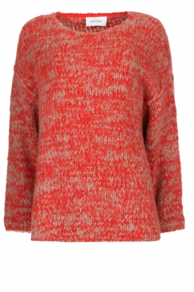 American Vintage | Knitted sweater Boolder | red