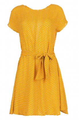 American Vintage | Dress with print Azulay | yellow