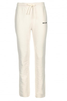 American Vintage | Sweatpants Hannah | beige