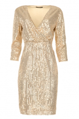 Set |  Sequin dress Lulu | gold