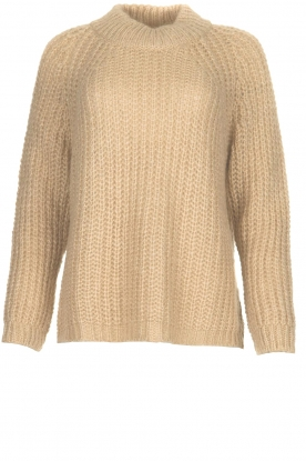 Aaiko | Chunky knitted sweater Milly | natural