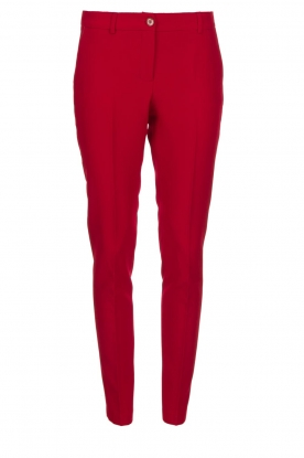 Kocca |  Classic trousers Jander | red