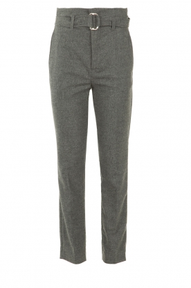 Set |  Wollen trousers Sophie | grey