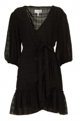 Silvian Heach | Wrap dress Pumalanga | black