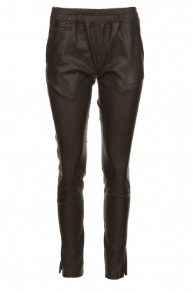 Est-Seven |  Leather legging  Amber | brown