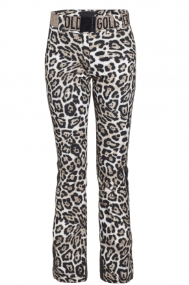 Goldbergh |  Leopard ski pants Roar | animal