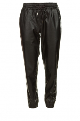 Silvian Heach | Faux leather pants Suris | black
