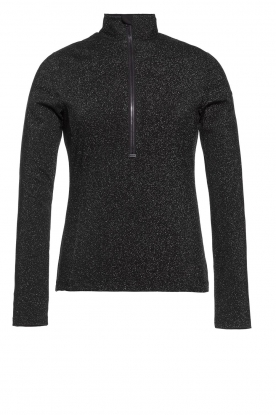 Goldbergh |  Ski pully with glitter Sparkle | black