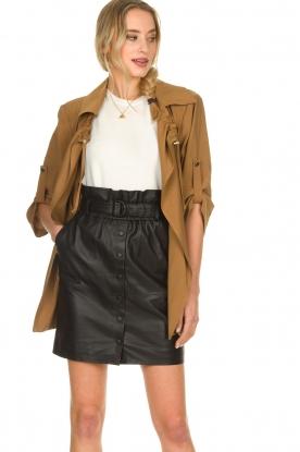 Silvian Heach    Wrap jacket Borkpa   brown