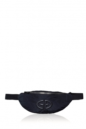 Goldbergh |  Bum bag with logo Velia | black