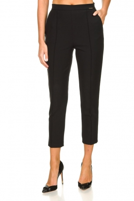 ELISABETTA FRANCHI |  Stretch trousers Forte | black
