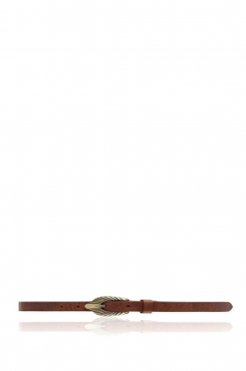 Depeche | Leather belt Nala | brown