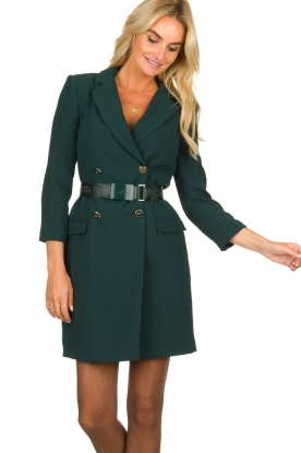 ELISABETTA FRANCHI |  Blazer dress Sonia | green