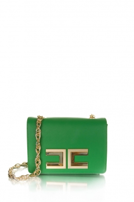 ELISABETTA FRANCHI |  Shoulderbag with golden details Menta | green