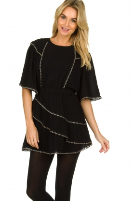 IRO |  Dress with metal details Zavora | black