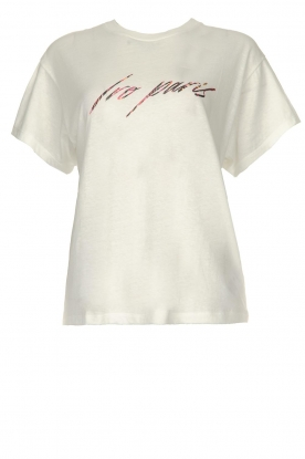 IRO |  Text printed T-shirt | white