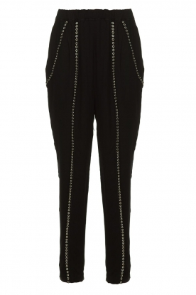 IRO |  Pants with metallic details Egini | black