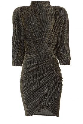 IRO |  Dress with shimmering lurex Absalon | black