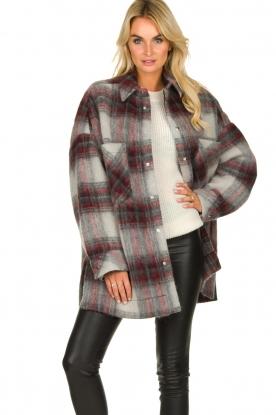 IRO |  Oversized coat Minsky | grey