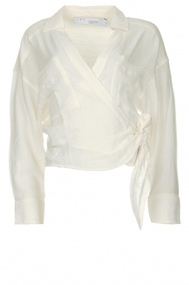 IRO | Wrap blouse Emain | naturel