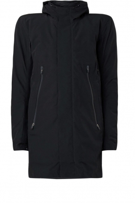 Krakatau |  Lined parka Urban chic | black