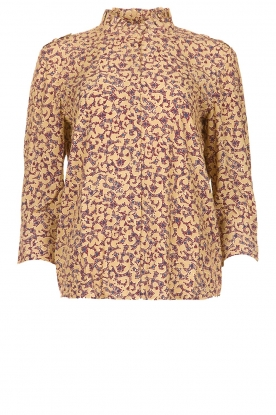 ba&sh |  Floral blouse Catty | beige