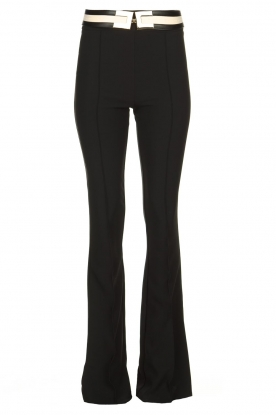 ELISABETTA FRANCHI | Flared trousers Loes | black