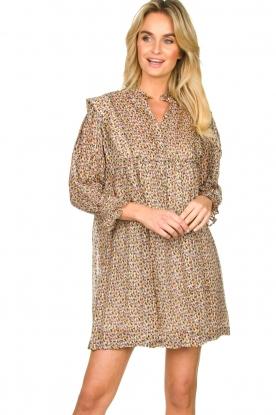 ba&sh |  Dress with silk Deep | naturel