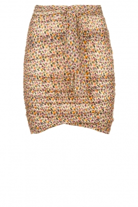 ba&sh |  Skirt with silk Dina |  naturel