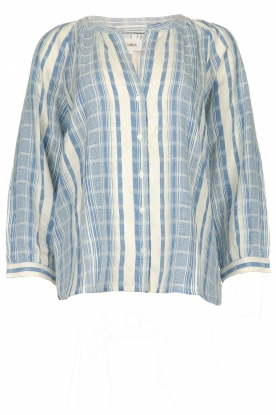 ba&sh |  Striped blouse East | blue
