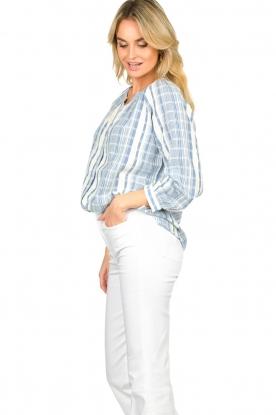 ba&sh |  Striped blouse East | blue