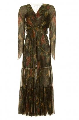 ba&sh |  Floral maxi dress with lurex Hendrix | black