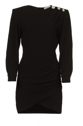 ba&sh |  Dress with button details Sloane | black