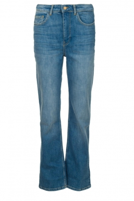 ba&sh |High waist jeans Cosm | blauw