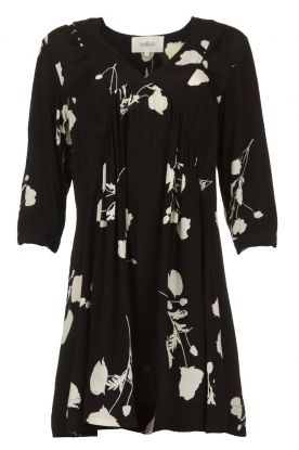 ba&sh |  Dress with flowers Pansy | black
